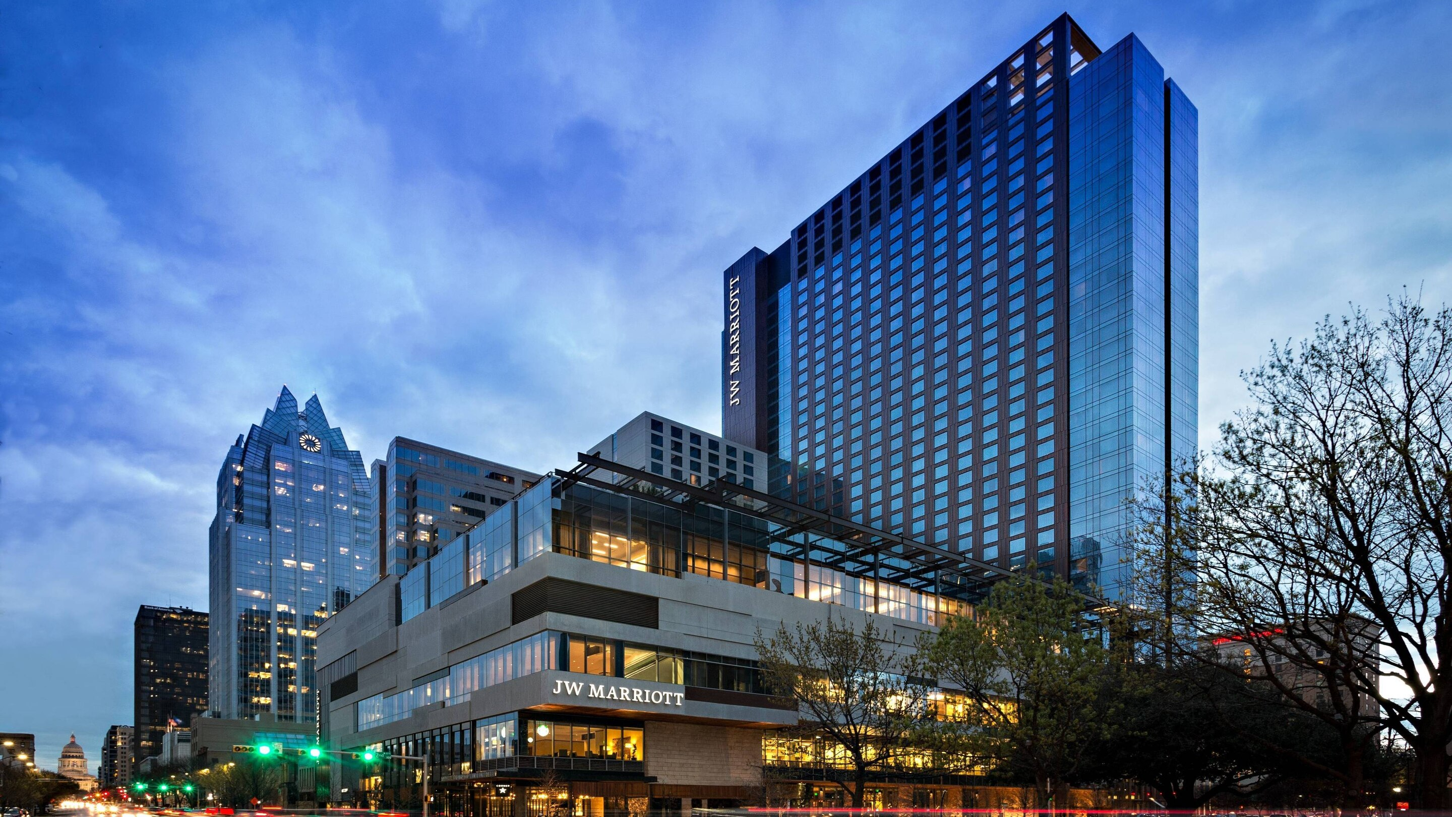 JW Marriott in the heart of downtown Austin